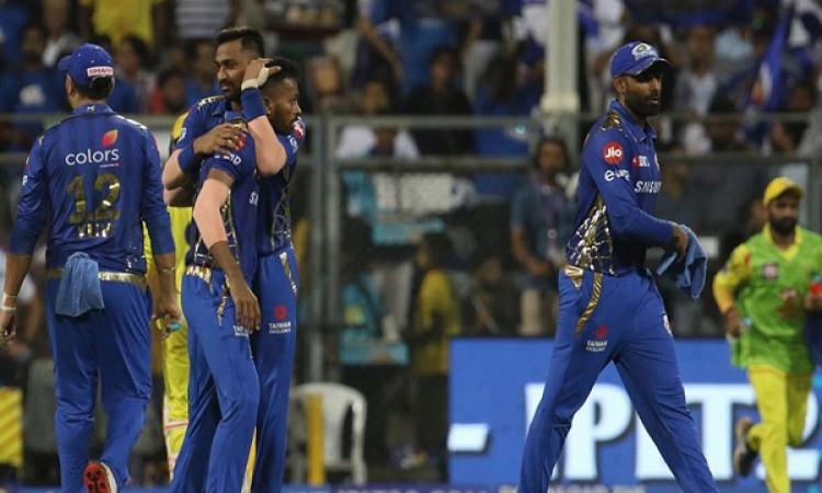 IPL 2019: हार्दिक पांड्या के ऑलराउंड परफॉर्मेंस ने जीताया मुंबई को, चेन्नई को मिली 37  रनों से हार I