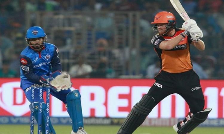 IPL 2019: गेंदबाजों और बेयरस्टो की तूफानी पारी, सनराइजर्स हैदराबाद ने दिल्ली कैपिटल्स को 5 विकेट से
