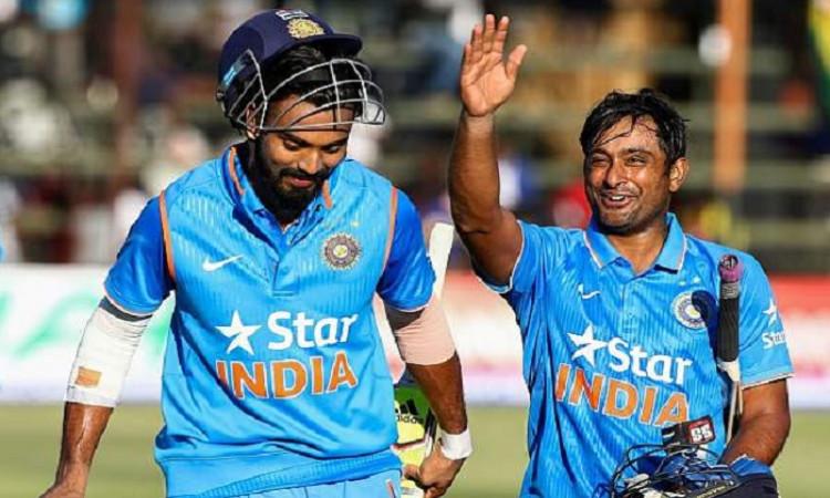 KL Rahul and ambati Rayudu