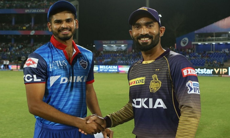Kolkata knight riders vs Delhi Capitals
