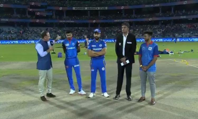 IPL 2019 मुंबई इंडियंस ने दिल्ली के खिलाफ टॉस जीतकर पहले बल्लेबाजी का फैसला, देखिए दोनों टीमों की पू