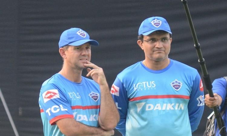 Ricky Ponting and Sourav Ganguly