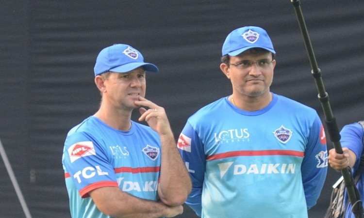 Ricky Ponting and Sourav Ganguly