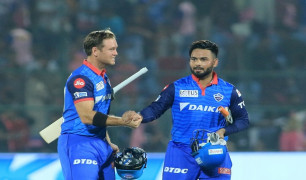 Rishabh Pant and Colin Ingram