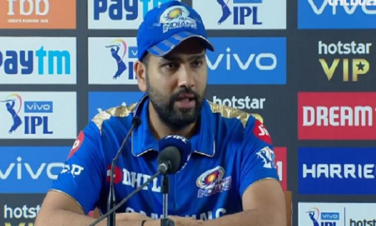 दिल्ली से मिली जीत के बाद खुश हुए रोहित शर्मा, इस खिलाड़ी की जमकर करी तारीफ Images