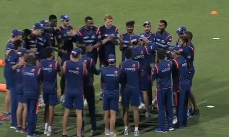 IPL match 24 MIvKXIP: मुंबई इंडियंस टीम से रोहित शर्मा बाहर, देखिए दोनों टीमों की प्लेइंग XI Images