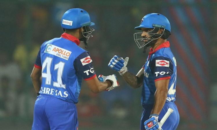 Shikhar Dhawan and Shreyas Iyer