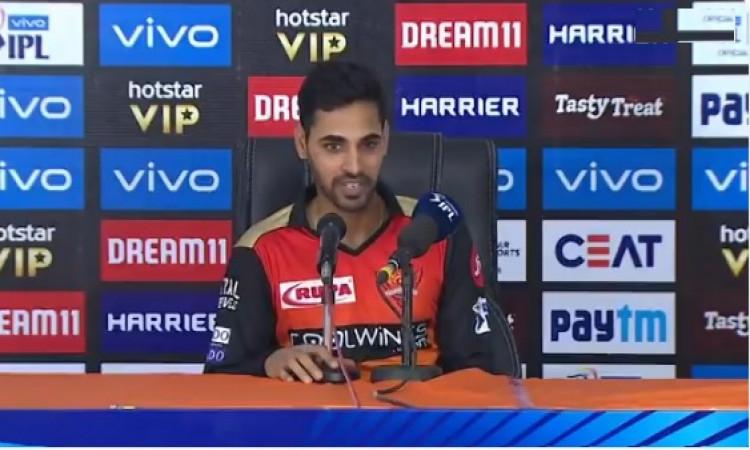 मुंबई इंडियंस के खिलाफ मिली हार के बाद भुवी ने कहा, पोलार्ड का कैच टपकाना हार का कारण बना Images