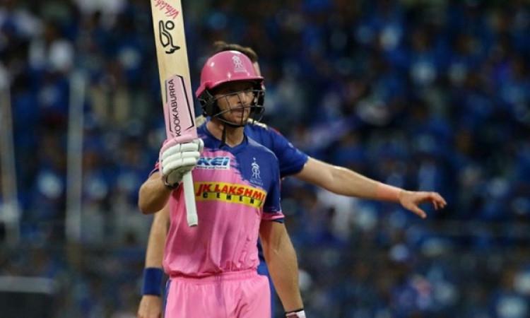 जोस बटलर की ताबड़तोड़ बल्लेबाजी के दम पर राजस्थान ने रोमांचक मैच में मुंबई को 4 विकेट से दी मात Imag