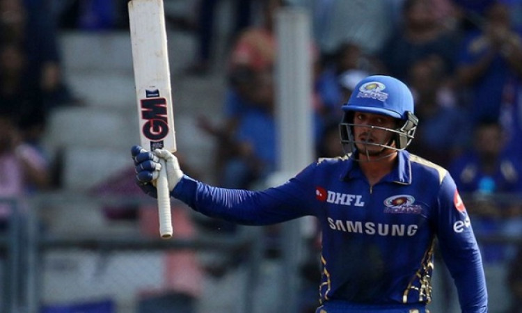 डी कॉक, रोहित और हार्दिक पांड्या ने बल्लेबाजी से किया कमाल,  राजस्थान को 188 रनों की चुनौती  Images