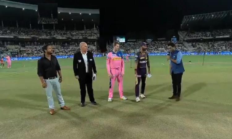 IPL 2019:  केकेआर बनाम राजस्थान, प्लेइंग XI, इस खिलाड़ी ने किया डेब्यू Images