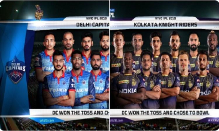 IPL 2019: दिल्ली कैपिटल्स के खिलाफ केकेआऱ की टीम में बदलाव, यह खिलाड़ी कर रहा है डेब्यू Images