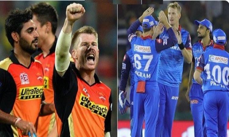 IPL भविष्यवाणी Match 30: सनराइजर्स हैदराबाद बनाम दिल्ली कैपिटल्स, जानिए कौन सी टीम जीत सकती है ? Ima