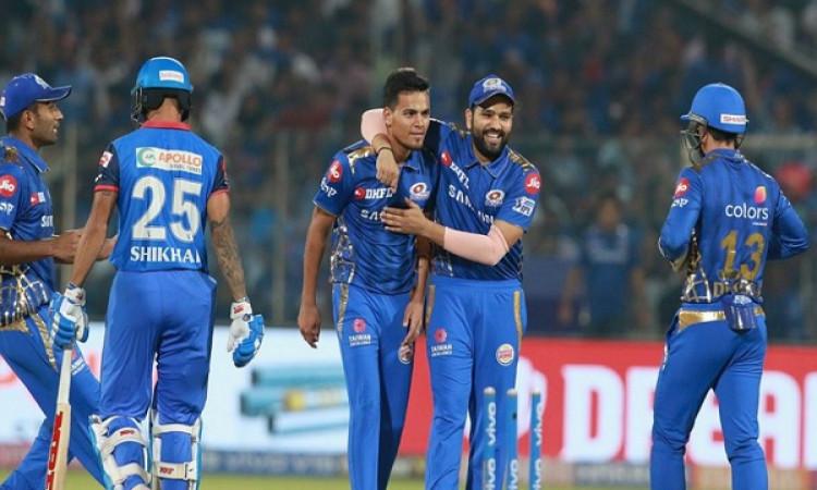 मुंबई इंडियंस ने 40 रनों से दी दिल्ली कैपिटल्स को मात, पांड्या ब्रदर्स के बदौलत जीता मुंबई Images