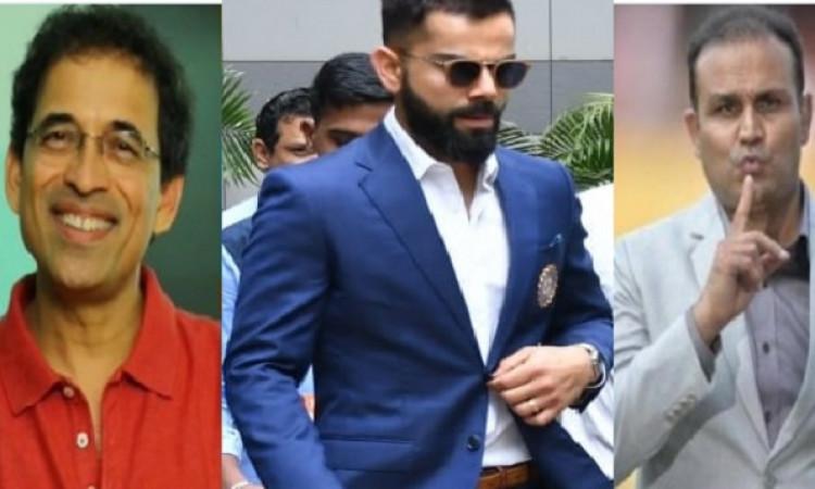 वर्ल्ड कप के लिए भारतीय टीम का ऐलान, भारतीय क्रिकेट जगत का ऐसा रहा रिएक्शन Images