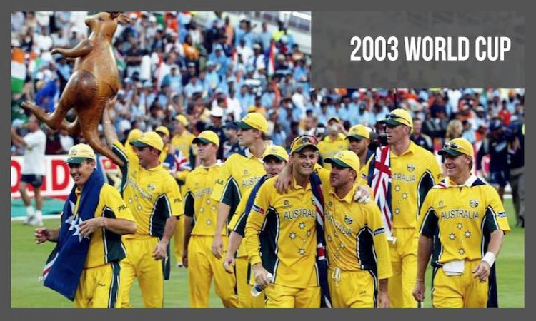 2003 Cricket World Cup Overview