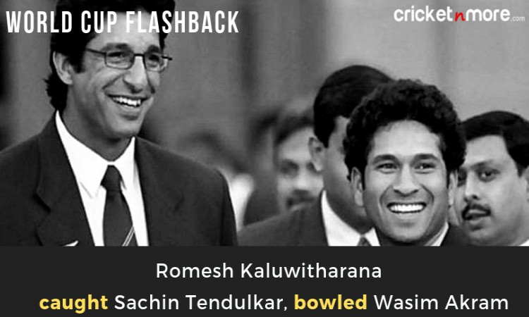 Wasim Akram-Sachin Tendulkar