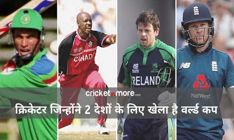 Cricketers who have played for two countries