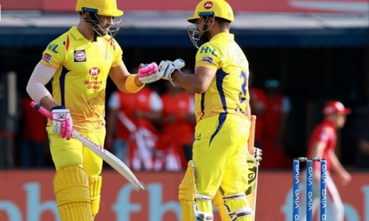 IPL 2019: डु प्लेसिस और रैना की अर्धशतकीय पारी, सीएसके ने पंजाब को दिया 171 रनों का टारेगट Images