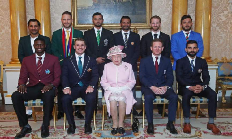 England Princess Elizabeth meets CWC19 Team Captains