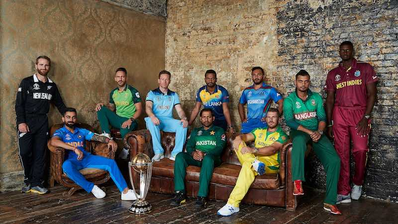 ICC Cricket World Cup 2019 Team Captains Images