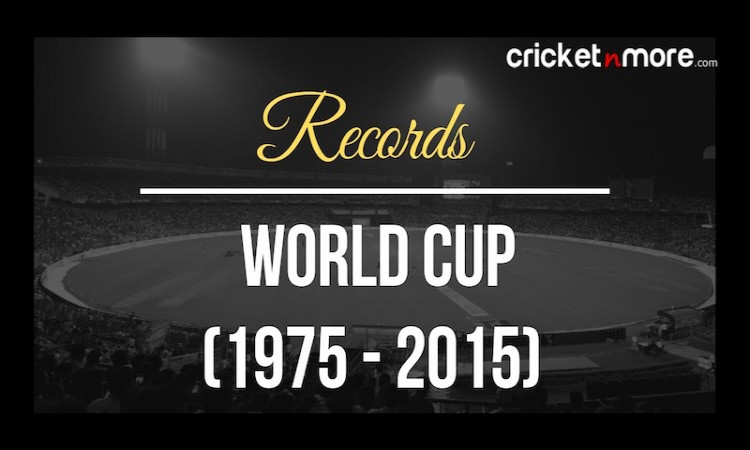 ICC Cricket World Cup Records
