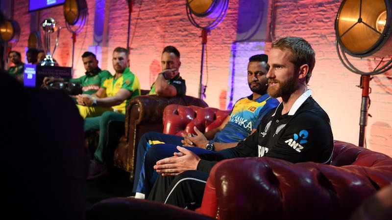 Kane Williamson At CWC19 Captains Meet Images in Hindi