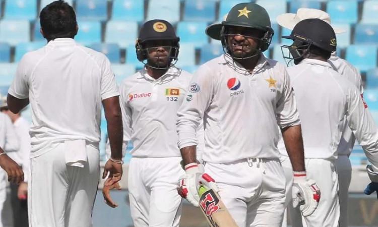 Pakistan vs Sri Lanka Test