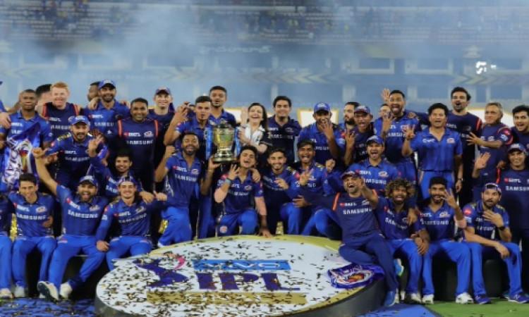 आईपीएल का खिताब चौथी बार जीतने पर रोहित शर्मा हुए इमोशनल, पुरानी बातों को याद कर के फैन्स को दिया मै