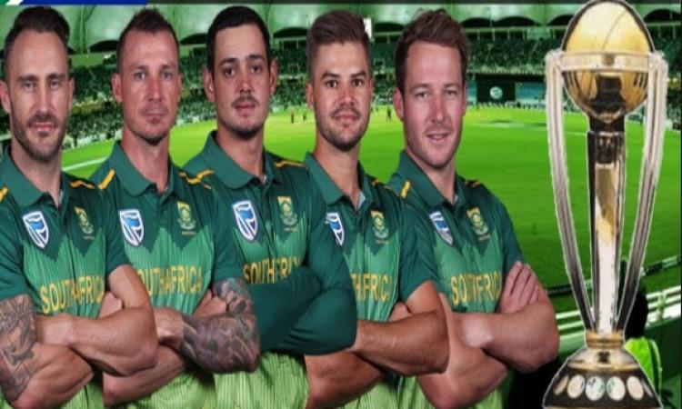 क्या इस वर्ल्ड कप में साउथ अफ्रीका हटा पाएगी 'चोकर्स' का दाग? जानिए कैसी है साउथ अफ्रीकी टीम! Images