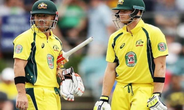 स्मिथ, वार्नर को वर्ल्ड कप में दी जाएगी बड़ी जिम्मेदारी, ऑस्ट्रेलियाई कोच का बयान Images