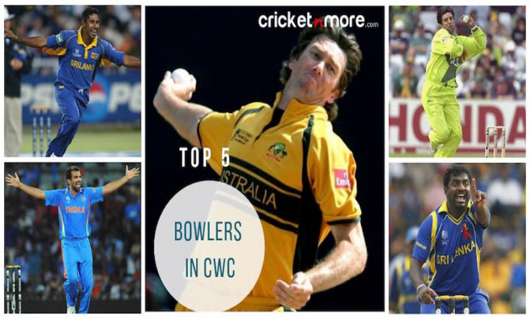 Top 5 Bowlers in CWC