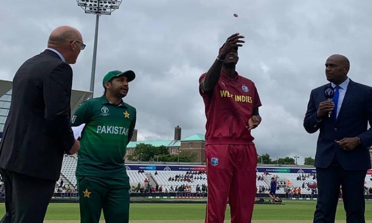 West Indies vs Pakistan Toss