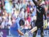 भारत- न्यूजीलैंड वर्ल्ड  कप अभ्यास मैच से पहले बुरी खबर, यह खिलाड़ी हुआ चोटिल Images