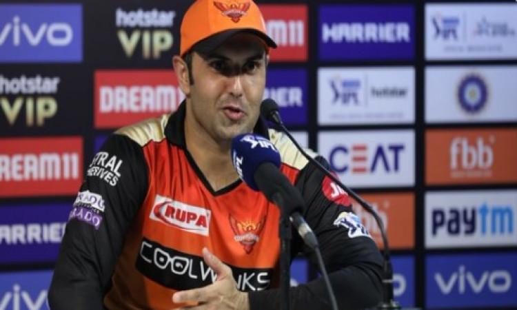 एलिमिनेटर मुकाबले से पहले हैदाराबाद के मोहम्मद नबी ने कहा ऐसा करने के बाद ही मिलेगी जीत Images