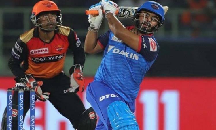 IPL एलिमिनेटर: ऋषभ पंत ने तूफानी पारी खेल दिल्ली कैपिटल्स को दिलाई जीत, हैदराबाद को मिली 2 विकेटों स