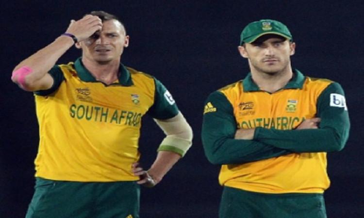 Dale Steyn and Faf Du Plessis