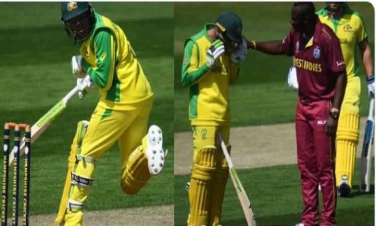 अभ्यास मैच में उस्मान ख्वाजा चोटिल, ले जाया गया अस्पताल, UPDATE वर्ल्ड कप के मैच खेल पाएंगे या नहीं