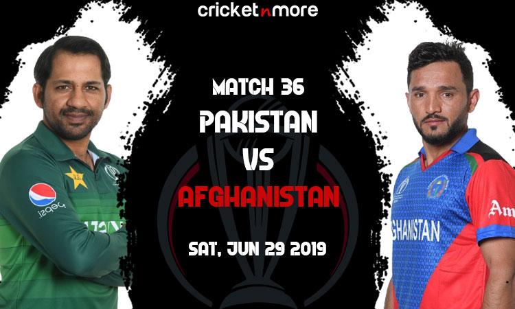 Pakistan vs Afghanistan