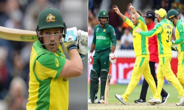 पाकिस्तान के खिलाफ रोमांचक जीत हासिल करने में मजा आया, एरोन फिंच का बयान Images