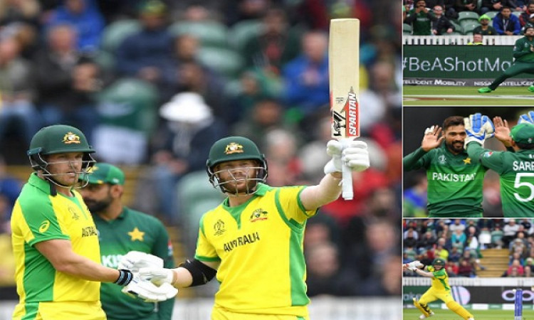 आखिरी ओवरों में मोहम्मद आमिर ने अपनी गेंदबाजी से कमाल करके ऑस्ट्रेलिया को बड़ा स्कोर बनानें से रोक द