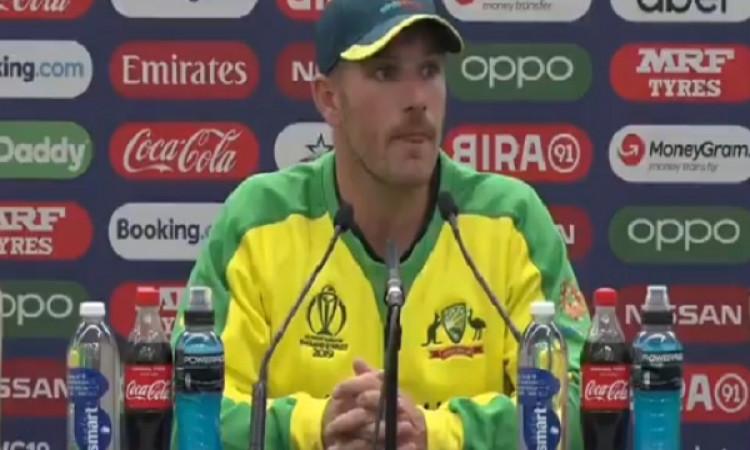 भारत के हाथों मिली करारी हार के बाद ऑस्ट्रेलियाई कप्तान एरॉन फिंच हुए दुखी, अपनी टीम के बारे में कही