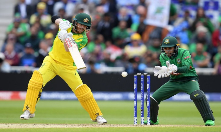 Warner ton propels Oz to mammoth 381/5 against Bangladesh Images