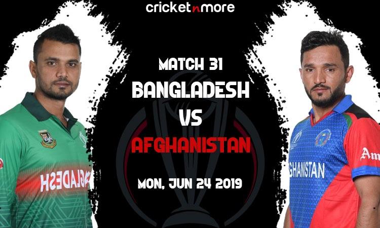Bangladesh vs Afghanistan Live Updates