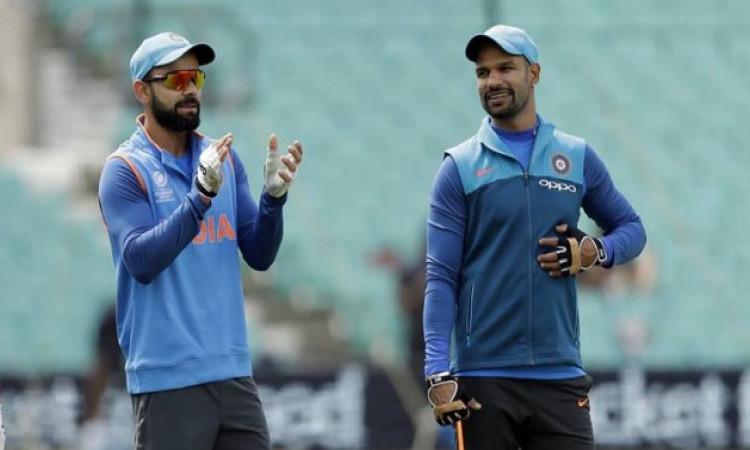 Dhawan and Kohli