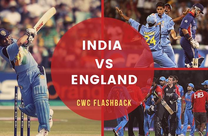 India vs England in World Cup