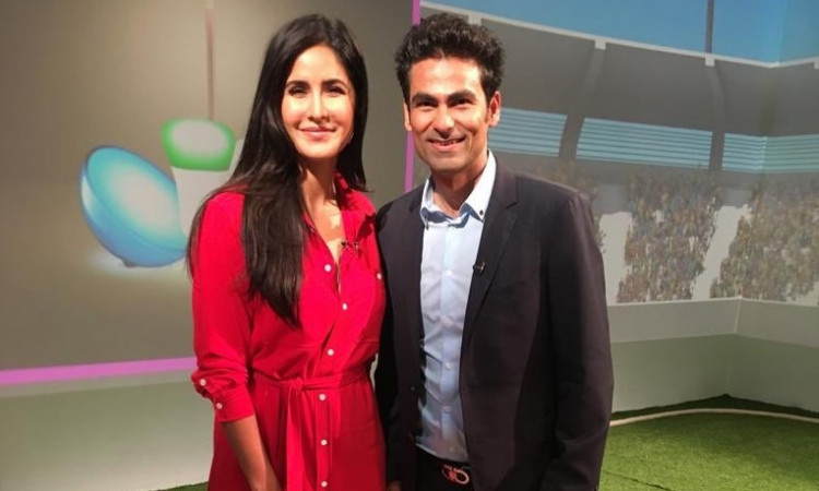 Mohammad Kaif and Katrina Kaif