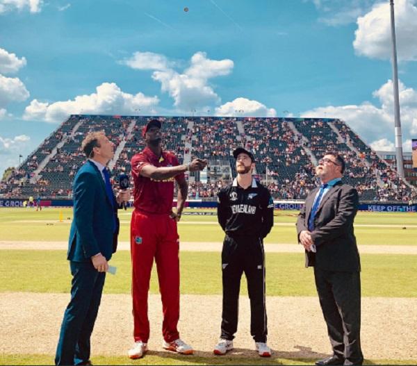 WIvNZ: वेस्टइंडीज ने टॉस जीतकर न्यूजीलैंड को दिया बल्लेबाजी का न्योता,देखें प्लेइंग इलेवन