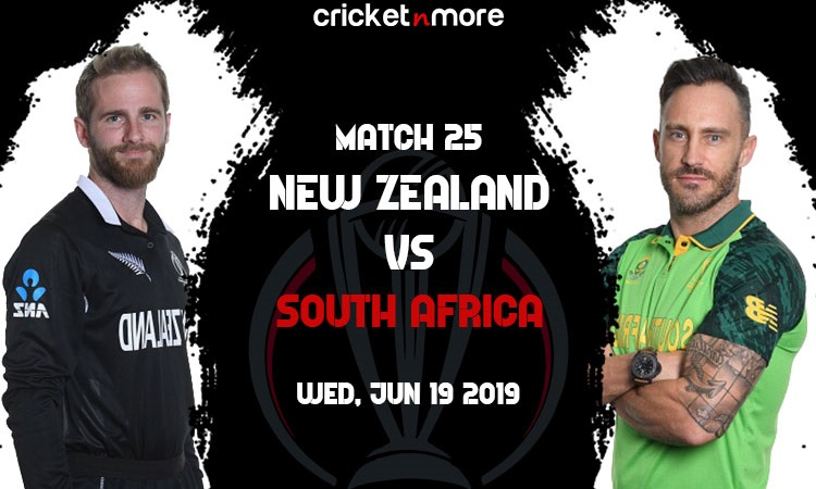 Live Updates New Zealand vs South Africa