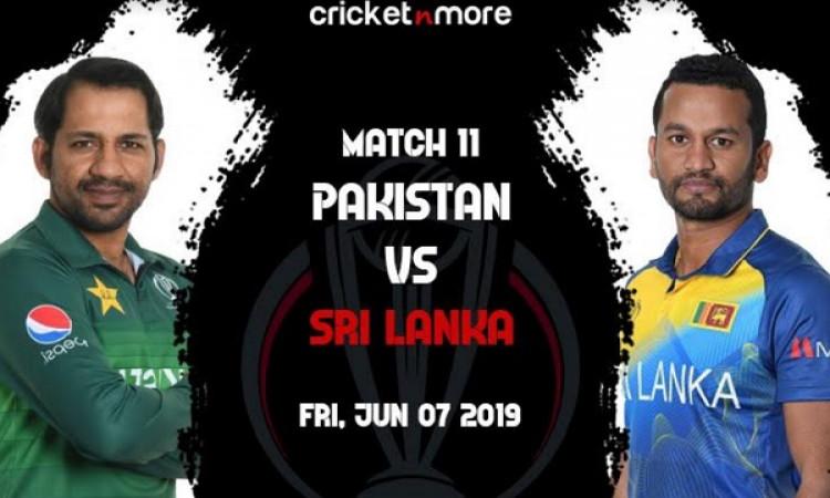 वर्ल्ड कप में श्रीलंका- पाकिस्तान के सामने विजयी क्रम को जारी रखने की चुनौती, ऐसी होगी प्लेइंग XI Im